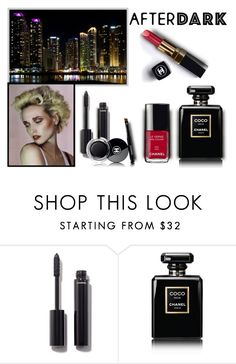 """After Dark"" by sjlew ❤ liked on Polyvore featuring beauty and Chanel"