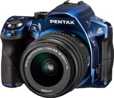 Pentax K-30 Weather-Sealed 16 MP CMOS Digital SLR with 18-55mm Lens (Blue) Pentax http://www.amazon.com/dp/B0082OJ3C2/ref=cm_sw_r_pi_dp_c6J3vb0JA4SZJ