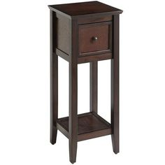 Ashington Pedestal Table - Mahogany, Pier 1