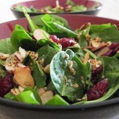 Jamies Cranberry Spinach Salad - Allrecipes.com
