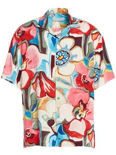 7940e3be [Spring 2018] Tavern Men's Hawaiian Shirt Surf Shirt, Aloha Shirt, Mens  Retro