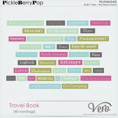 Travel Book [Word Tags]