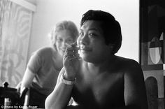 The indulgent monk: Chögyam Trungpa, seen here in the early 1970s with Lady Diana, was known for smoking, drinking and taking drugs. He also slept with many of his students - even after getting married
