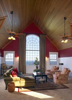 window treatments for great room windows | Curtains For Arched Windows Design Ideas, Pictures, Remodel, and Decor