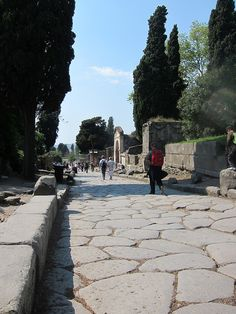 I've walked these streets.  its more amazing in real life.  Pompeii