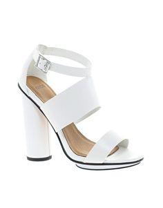 Image 1 ofASOS HOCUS Heeled Sandals