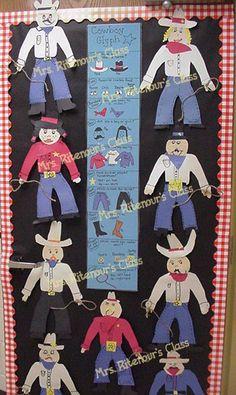 Cowboy glyph