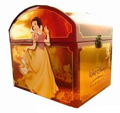 A box set of every Disney movie (132 discs!) for only $225. I want it! :)