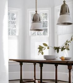 over-sized dining pendants: cheap alternative to find new warehouse type exterior lighting in homedepot and using iron pipe from ceiling down
