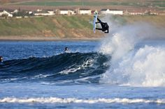 Thurso, Scotland! The best place to surf! Surfing championships held every year!