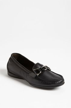 Attilio Giusti Leombruni Moccasin available at #Nordstrom.  These are the BEST travel shoes ever!