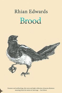 Brood | Seren Books – new poetry pamphlet by Rhian Edwards with charcoal drawings by Welsh artist Paul Edwards – coming March 2017