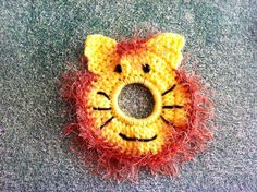 Crochet Photography Lens Buddy Critter Lion  by BrightCrochet, $11.00
