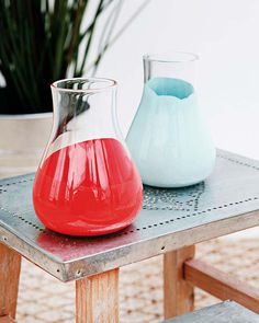 DIY: painted jars