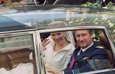 mariage Philippe de Belgique et Mathilde  D'Udekem d'Acoz le 4 décembre 1999