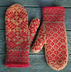 Alexandra Nikoleris – Dela dina vantar! Knitting Charts, Free Knitting, Knitting Patterns, Knitting Ideas, How To Start Knitting, How To Purl Knit, Knit Mittens, Knitted Gloves, Knit Stranded