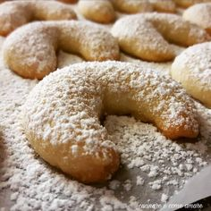 forno e infornate a per circa Italian Cookies, Italian Desserts, Italian Recipes, Keto Chocolate Chip Cookies, Almond Cookies, Great Desserts, Mini Desserts, My Favorite Food, Favorite Recipes