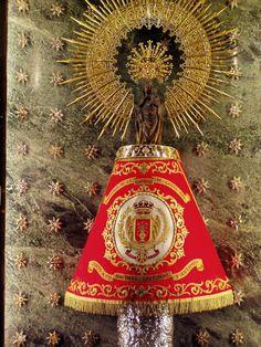 Virgen del Pilar. Virgin of Pilar. Spain, España.