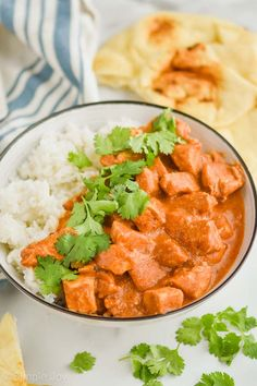 Crockpot Butter Chicken is an easy and simple recipe that your whole family will love! The sauce in this recipe is the perfect flavor, get ready to add this to the menu rotation. Easy Delicious Recipes, Spicy Recipes, Indian Food Recipes, Crockpot Recipes, Ethnic Recipes, Crockpot Dishes, Butter Chicken Recipe Crockpot, Chicken Recipes, Slow Cooker Broccoli