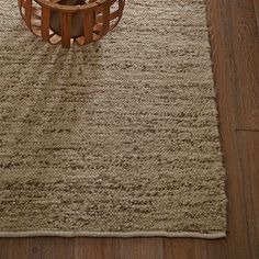 Sweater Rug #WestElm  $99  This handspun rug sounds very soft, which would be amazing, especially in the winter.