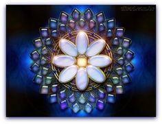 Mandala Flor. Art Therapy, Reiki, Digital Art, Sewing, Creative, Interior, Crafts, Flower, Mandalas