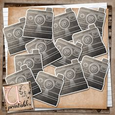 U printables by RebeccaB: FREE Printable - Vintage Polaroids  Great for Project Life, Scrapbooking and Smash Books.