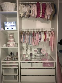 # ikea # itsaGirl # Schrank # ikea # itsaGirl # Schrank # ikea # itsaGirl # Schrank The post # ikea # itsaGirl # Schrank appeared first on Babyzimmer ideen. The post # ikea # itsaGirl # Schrank appeared first on Zimmer ideen. Baby Nursery Closet, Baby Bedroom, Baby Room Decor, Girl Nursery, Girl Room, Girls Bedroom, Baby Girl Closet, Room Baby, Nursery Room
