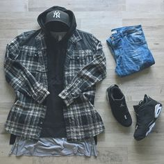 Best Inspirations: Fall Streetwear For Mens Collections Mode Outfits, Casual Outfits, Men Casual, Fashion Outfits, Womens Fashion, Mode Masculine, Perfect Outfit, Flannel Outfits, Style Masculin