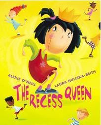 The Recess Queen By Alexis O'neill. A terrific read providing powerful insights about playground bullying! This book with its wonderful rhyming text, vibrant illustrations, and engaging story line will cause classroom and playground bullies to reflect on their behavior!