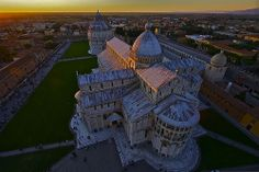 Dalla torre / From the tower Pisa, Italy