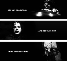 """""""He's not responsible for his actions… not in control…"""" - Steve Rogers in Captain America: The Winter Soldier #marvel"""