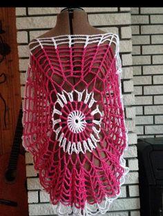 Top. Crochet, Tops, Crochet Hooks, Shell Tops, Crocheting, Chrochet