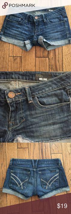 William Rast shorts William and Rast medium wash jean shorts - low rise - great condition William Rast Shorts Jean Shorts