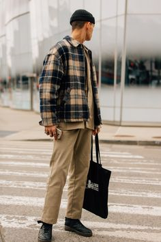 805368beb5c5 The Fall Winter 2018 fashion shows end in N. where the industry s most  stylish guys prove that street style in winter can be a very good thing.