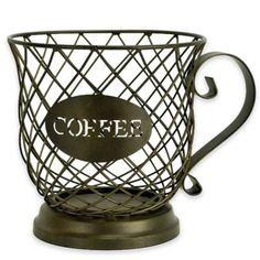 Boston Warehouse® Metal Coffee Cup K-Cup Holder - BedBathandBeyond.com