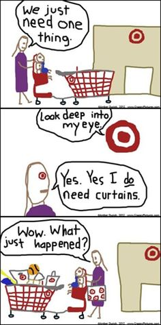 Target takes all your money