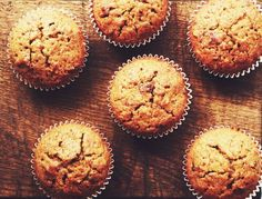 Are you looking for a muffins recipe? Add a hint of Alpen muesli to your muffins with this deliciously different take on a baking classic. Power Muffins, Banana Carrot Muffins, Oat Bran Muffins, Pineapple Muffins, Muesli, Breakfast Recipes, Dessert Recipes, Pumpkin Muffin Recipes, Homemade Oatmeal