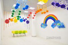 Оформление комнаты для детских праздников и фотосессий | Decorsando.ru