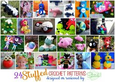 Stuffed – Crochet Patterns Reviewed or Designed by Stitch11
