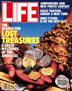 LIFE Magazine March 1987 - Mel Fisher Treasure