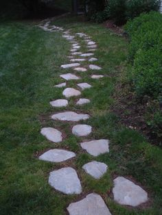 MD- Custom stepper stone pathway