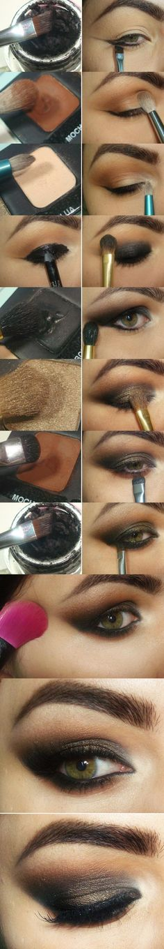 How to apply eyeshadow - Step by step tutorial