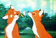 Tod and Vixey, MickeyMeCrazy Disney the Fox and the Hound