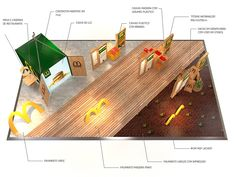 McDonalds . Stand . Feira Agricultura on Behance