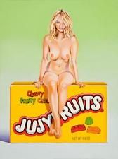 "Mel Ramos ""Jujyfruit Judy"" 2015, Pop Art Grafik Lithografie, Luxus"
