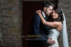 Glencorse House wedding photos - Lauren and Wayne - the newly-weds inside Glencorse Kirk