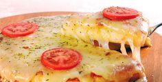 Pizza de liquidificador - será que fica bom?