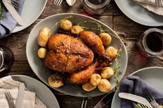 A roast chicken can make for an elegant Sunday dinner or a quick dinner party main course. But the whole roasting process becomes much less high maintenance when you cook the chicken in a Crock-Pot.
