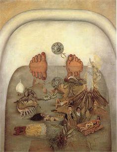 REBELE-SE: A intensa Frida Kahlo. O que vi na vida(1938) Uma espécie de retrospectiva de sua vida.