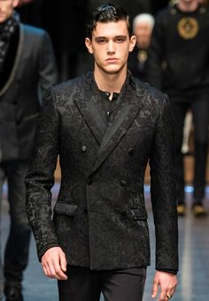 black ivy // Dolce and Gabbana AW2015 #menswear #simplydapper #stylish